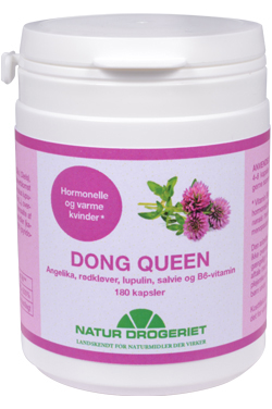 Image of Natur Drogeriet Dong Queen 400 mg (180 stk)