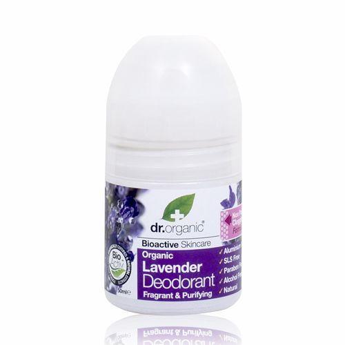 Image of Dr. Organic Lavender Deodorant Roll-on (50 ml)