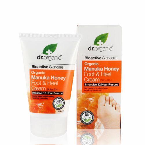 Image of Dr. Organic Manuka Honey Foot & Heel cream (125 ml)