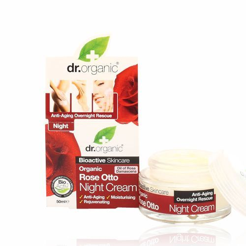 Image of Dr. Organic Rose Otto Night Cream (50 ml)