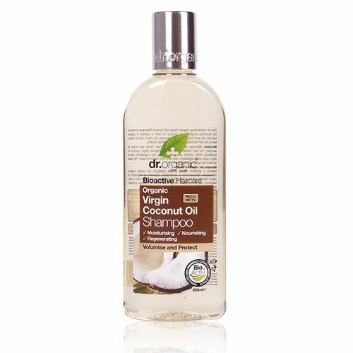 Image of Dr. Organic Virgin Coconut Oil Shampoo (265 ml)