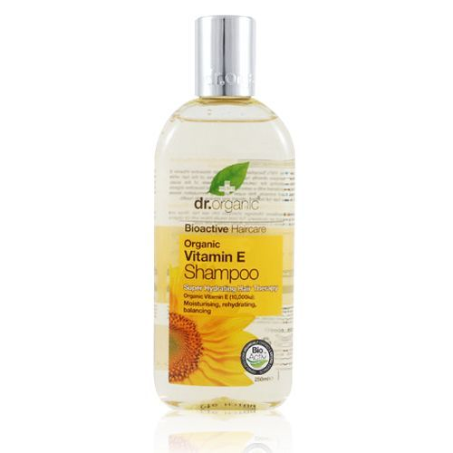 Image of Dr. Organic Vitamin E Shampoo (250 ml)