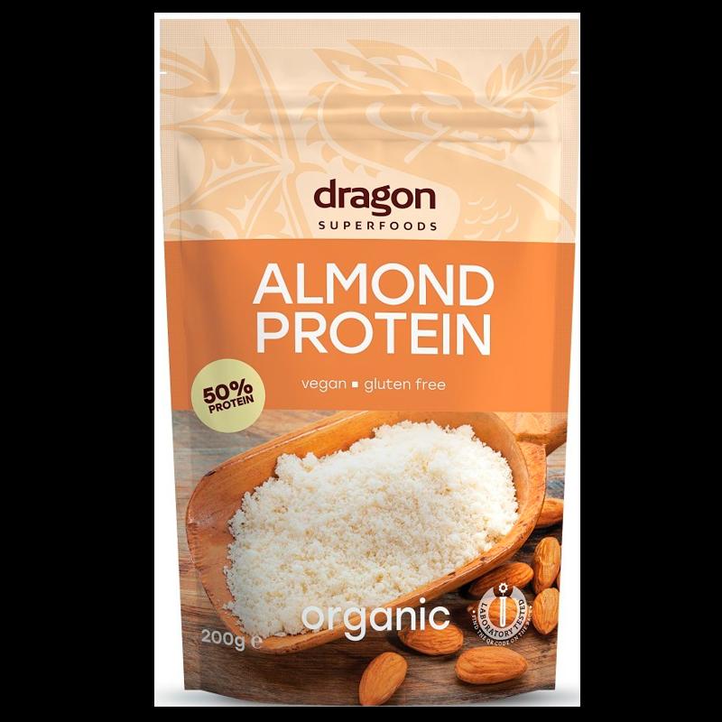 Billede af Dragon Superfood Mandel Proteinpulver Ø (200 g)