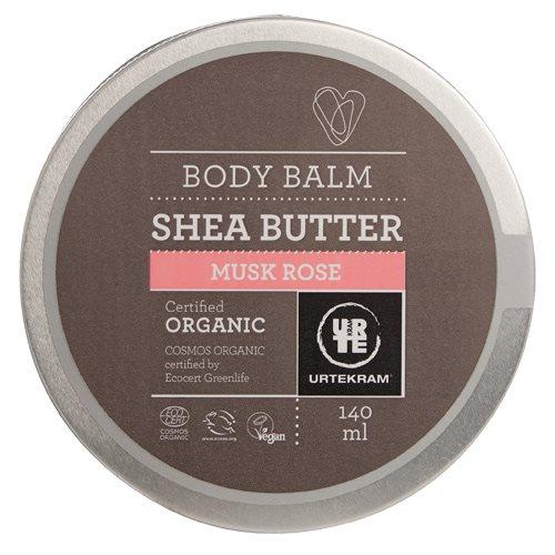 Image of Urtekram Body Balm musk/rose Shea butter (140 ml)