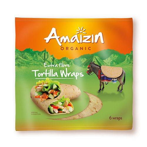 Image of Amaizin Tortilla fiber wraps 6 stk Ø (240g)