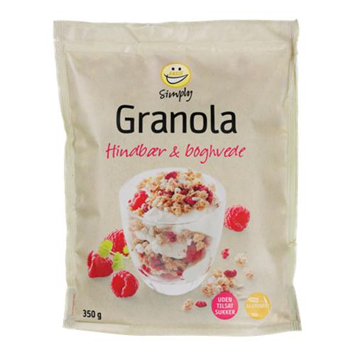 EASIS Granola Hindbær Og Boghvede