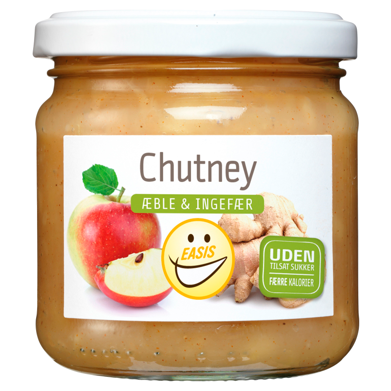 EASIS Æble Ingefær Chutney