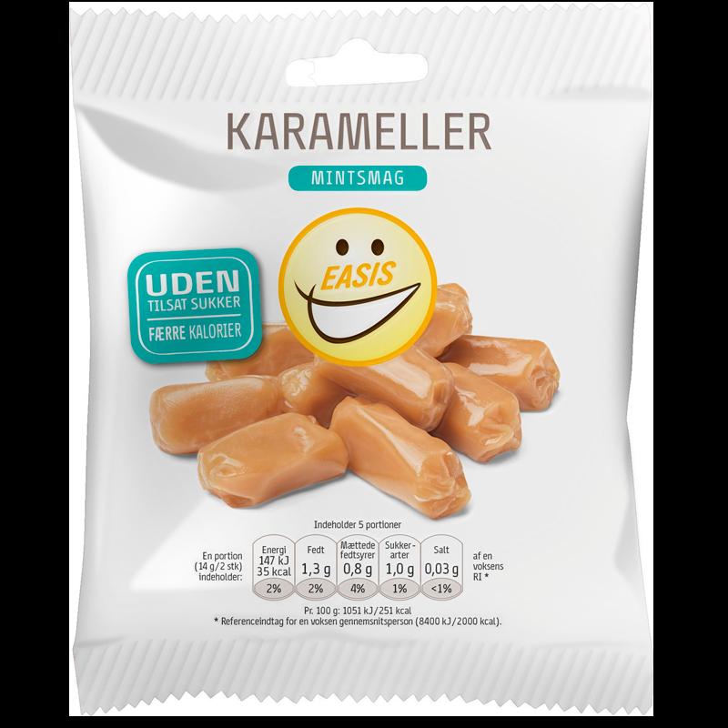 Easis Karameller Med Mintsmag