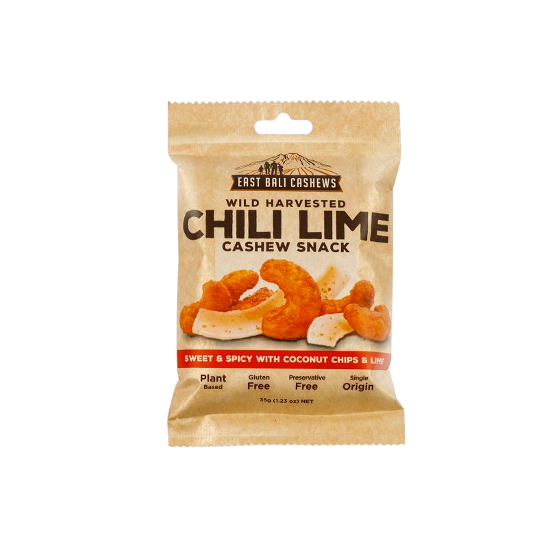 East Bali Cashews Cashewnødder Ristet Med Chili Lime