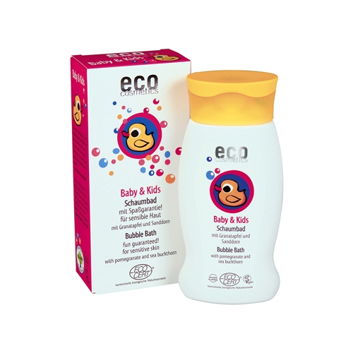 Image of ECO Cosmetics Baby Boblebad m. Granatæble og Havtorn (200 ml)