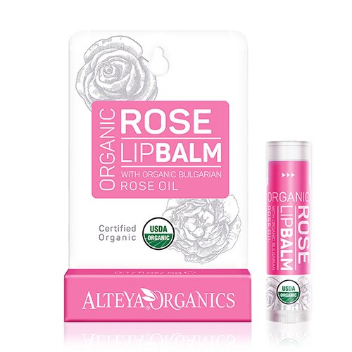 Lipbalm bulgarian rose oil Alteya Organics thumbnail