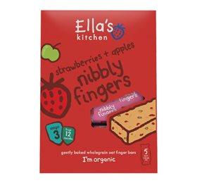 Image of Ellas Kitchen Figenbar Jordbær/Æble 12 Mdr Ø