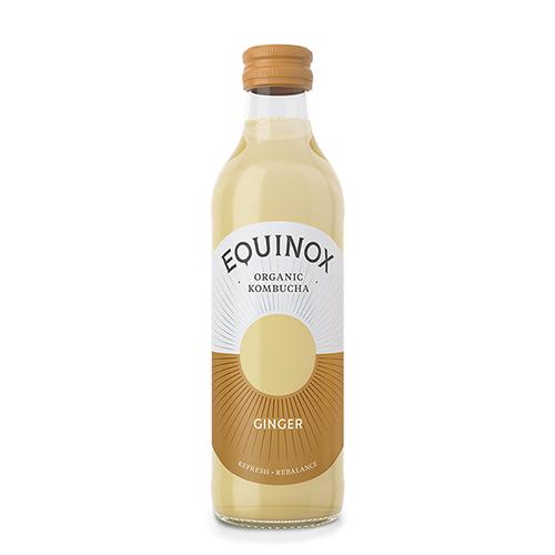 Equinox Kombucha Te Raw Ginger Ø