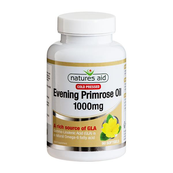 Natures Aid - Evening Primrose Oil 1000 mg (90 stk softgel) thumbnail