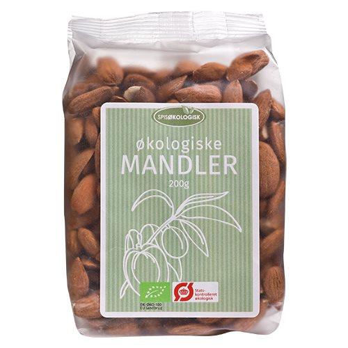 Spis Økologisk Mandler Ø (200 g)