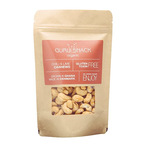 Image of Guru Snack Cashews Chili & Lime (100 g)