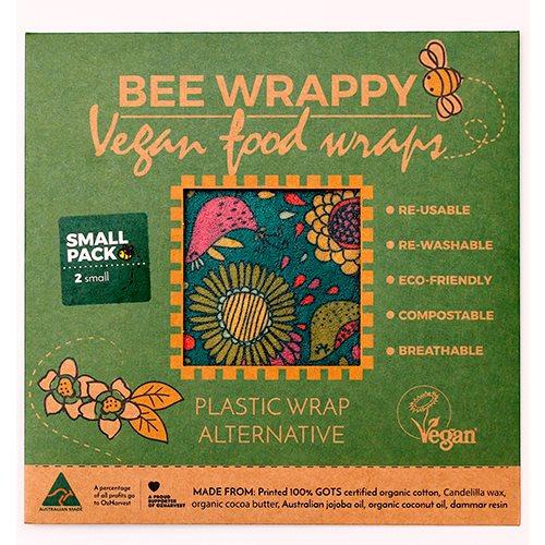 Bee Wrappy Vegan Food Wraps (2 x small)