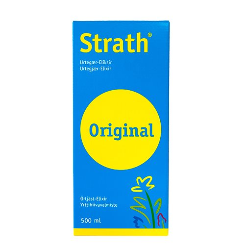 Image of Bio-Strath Strath urtegær eliksir (500 ml)