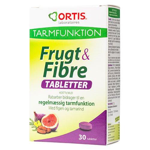 Image of Ortis Frugt & Fibre tabletter (30 tab)