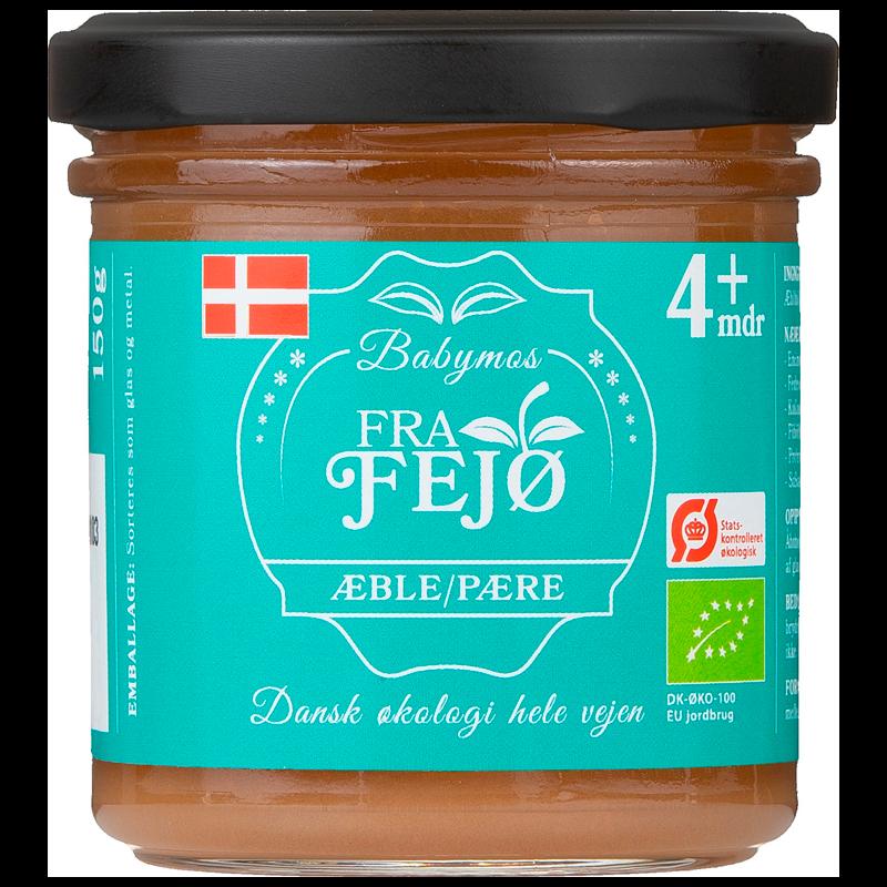 Fra Fejø Babymos Æble/Pære Ø