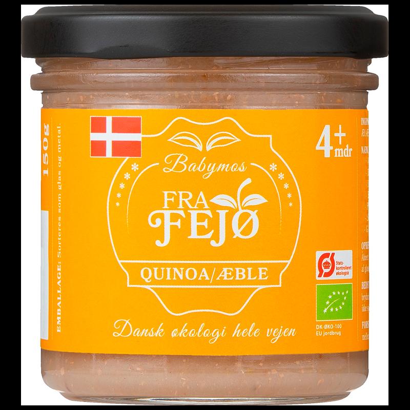 Fra Fejø Babymos Quinoa/Æble Ø
