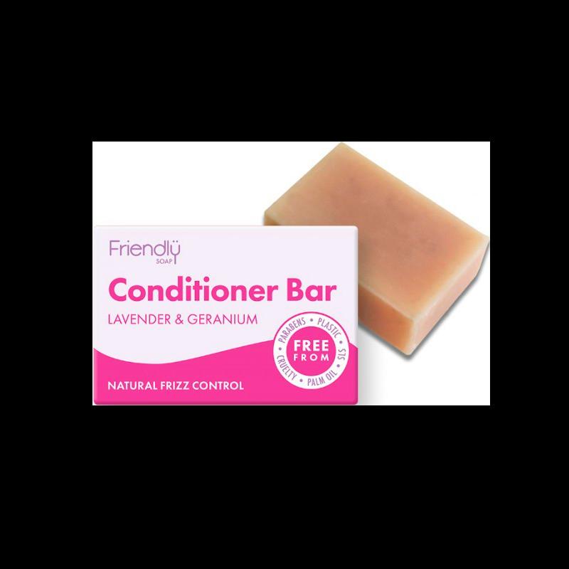 Friendly Conditioner Bar Lavendel & Geranium (95 g)