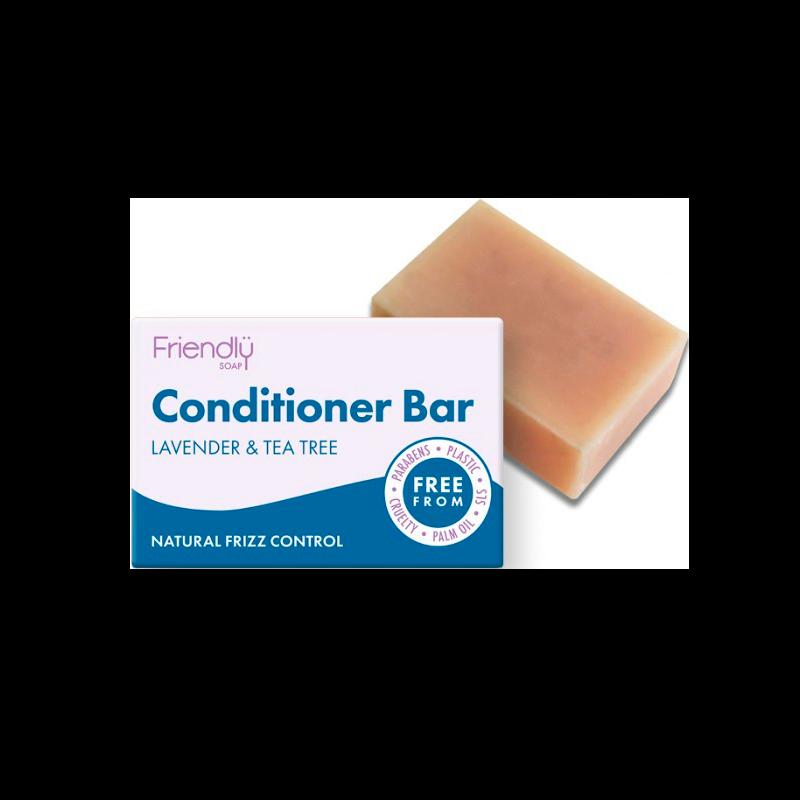 Friendly Conditioner Bar Lavendel & Tea Tree (95 g)