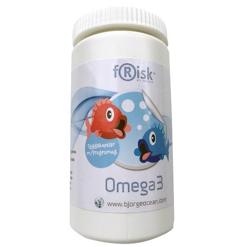 Image of Frisk Omega-3 tyggekapsler (90 stk.)