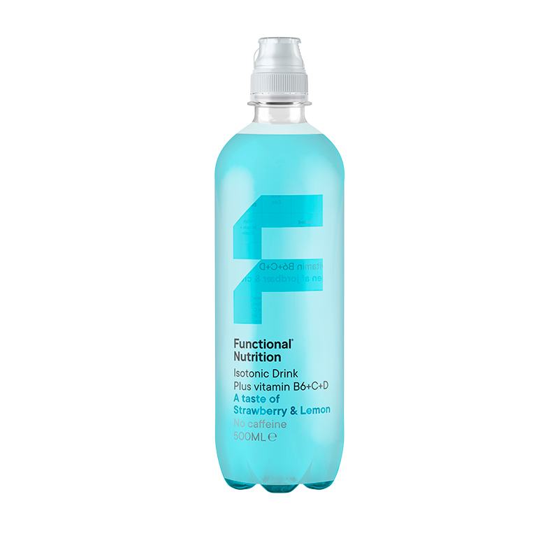 Functional Nutrition Isotonic Drink Strawberry & Lemon (500 ml)