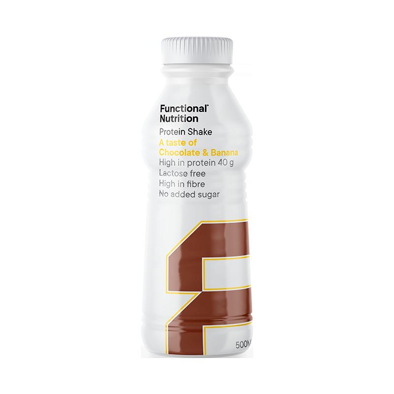 Functional Nutrition Protein Shake Chocolate & Banan (500 ml)