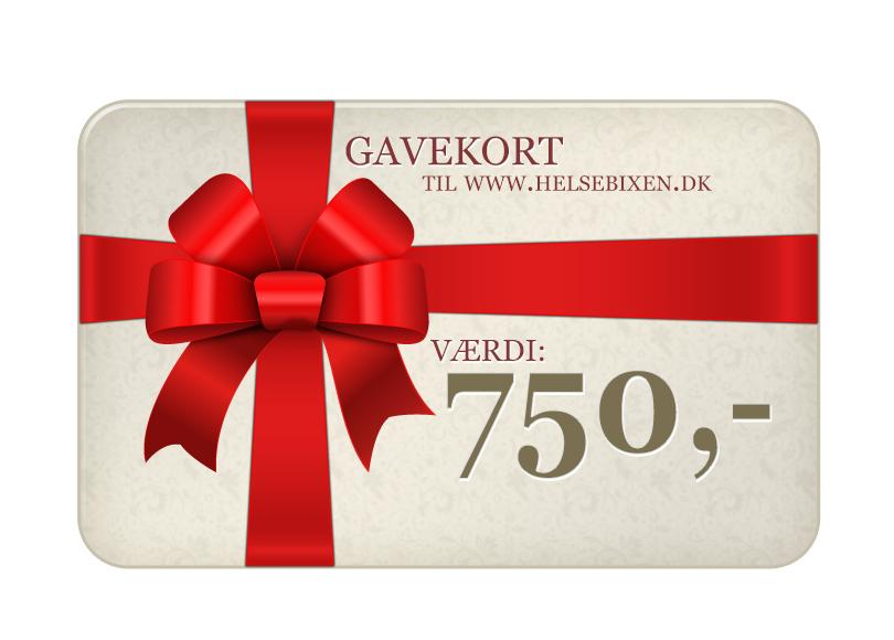 Image of Gavekort 750 kr.