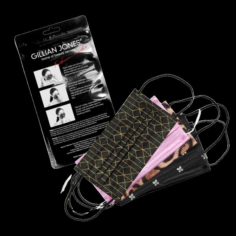 Gillian Jones Fashion Mundbind Med Print (10 stk)