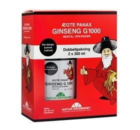 Natur Drogeriet Ægte Panax Ginseng G 1000 (2 x 300 ml)