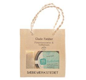 Sæbeværkstedet Glade Fødder Gavepose (1 stk)