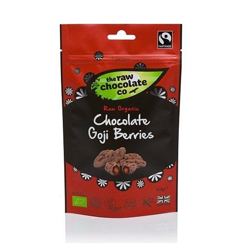 Image of Organic Raw Chocolate Gojibær (125 gr)