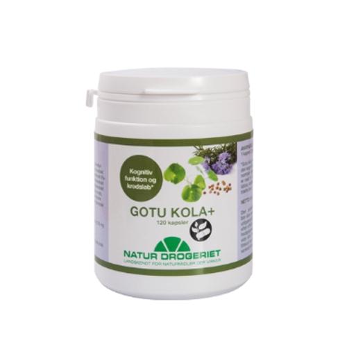 Image of Natur Drogeriet Gotu Kola 220 mg (120 kapsler)