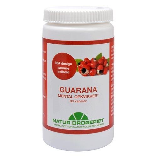 Image of Natur Drogeriet Guarana 500 mg (90 kapsler)
