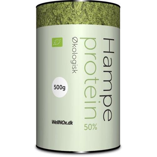 WellNOx Hampeprotein 50% Ø 500G.