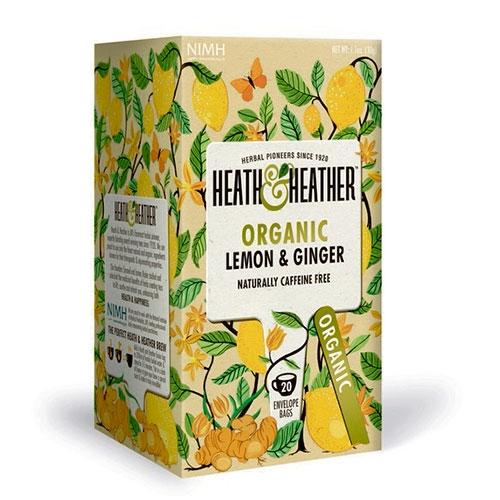 Image of Heath & Heather Lemon & Ginger Ø (20 breve)