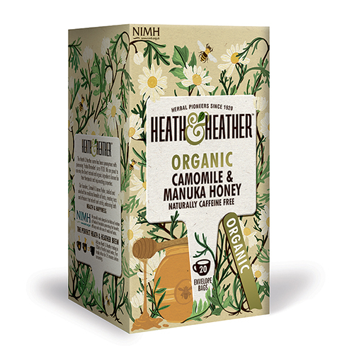 Heath & Heather Organic Green Tea & Manuka honey (20 br) thumbnail