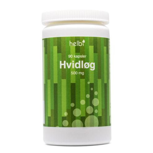 Image of Helbi Hvidløg 500 mg (90 kapsler)