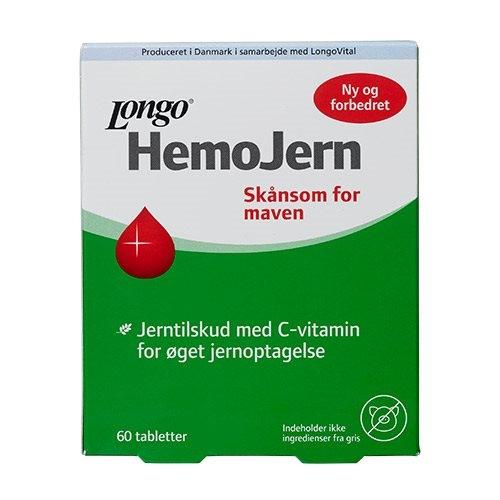 Image of Longo Hemo Jern (60 tabletter)