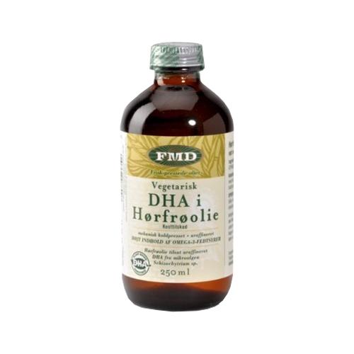 Image of Hørfrøolie med vegetarisk DHA, Ø 250 ml.