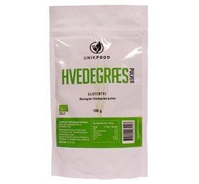 Diet-food hvedegræs pulver fra Helsebixen