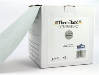 Image of Thera-Band elastik bånd 45m (Sølv - Ekstra hård)