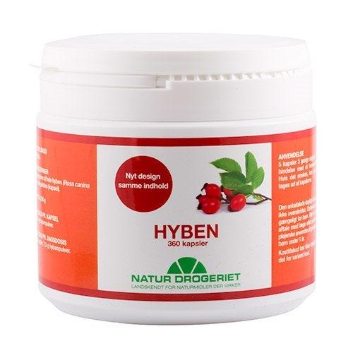 Natur Drogeriet Hyben 500 mg (360 kapsler)