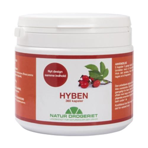 Image of Natur Drogeriet Hyben 500 mg (360 kapsler)