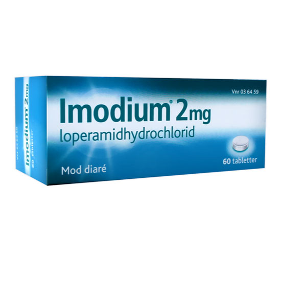 Image of Imodium Tabletter 2MG (60 stk)