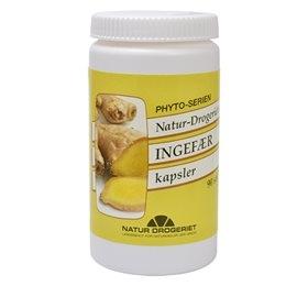 Image of Natur Drogeriet Ingefær 400 mg (90 kapsler)