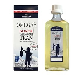 Image of Lysi Torskelevertran Omega-3 (240 ml)